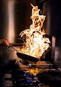 Preparing Flame Meal