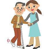 Cane Grandpa assistance