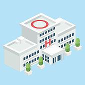 Isometric Modular Hospital
