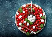 Traditional Caprese Salad