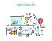 Performance evaluation working, quality control, performance productive, analysis of results