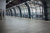 Empty Station On Bangkok's Airport Link