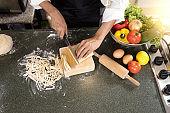 chef home made do pasta soba noodle