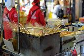 Fish Cakes, Myeong-dong Street Food