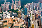 Hong Kong China Cityscape