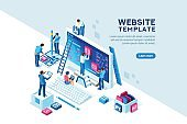 Project Team Office Web Template