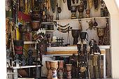 souvenir shop showcase