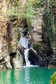 waterfall on Agura river