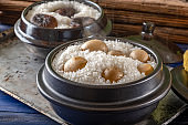 Rice Cooked with Potatoes