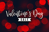 Valentine's Day Sale Holiday Text
