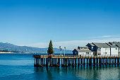 Santa Barbara pier view