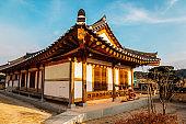 Gyochon Hanok Village, Korean traditional house in Gyeongju, Korea