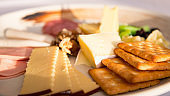 Close up of Cheese platter