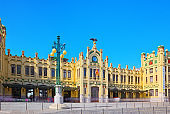 North Railways Station (Estacio del Nord) in Valencia. Capital of the autonomous community of Valencia.
