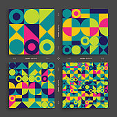 Cover design template for advertising. Abstract colorful geometric design. Pattern can be used as a template for brochure, annual report, magazine, poster, presentation, flyer and banner.