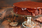 Chocolate cake (brownie)