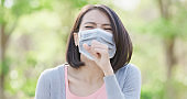 woman get sick