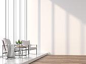 Minimal living room 3d rendering image
