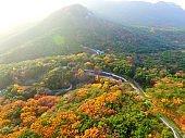 Autumn of Geumjeong Mountain Fortress South Gate, Busan, South Korea, Asia