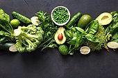 Raw healthy food clean eating vegetables