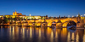 Evening by Charles Bridge, Prague
