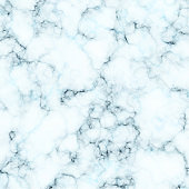 White and blue marble texture. Vector background