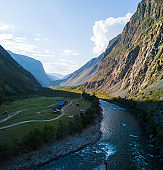 Valley of the river of Chulyshman