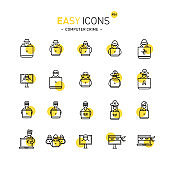 Easy icons 44d Computer crime