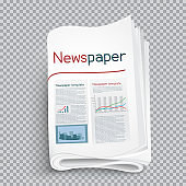 newspaper shadow transparent background