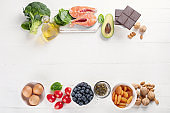Healthy food for brain and memory.