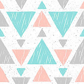 Abstract soft colored seamless pattern background