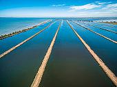 Water treatment plant pool in Melbourne, Australia