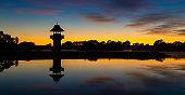 Dawn Henley Lake Tower