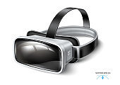 Vector virtual reality headset, VR mask mock up