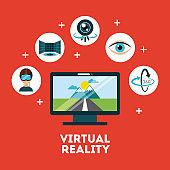 virtual reality flat