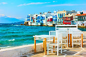 Little Venice in Mykonos Island