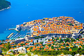 Vew of Old town of Dubrovnik
