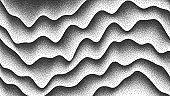 Vector Smooth Lines Dotwork Background