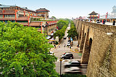Ancient City Walls in Xi'an