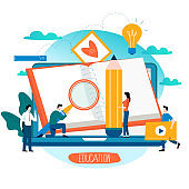 Education, online training courses, distance education