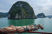 The Halong Bay in Vietnam
