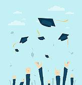 Graduated studets