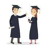 Isolated graduatd students