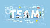Team concept illustration.