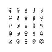 Lightbulb Outline Icon