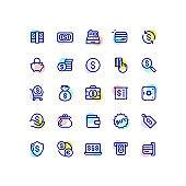 Money & Finance Line Icons