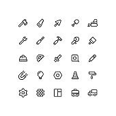 Outline Work Icons
