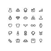 Beauty Line Icons
