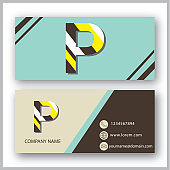 Business Card With Symbol