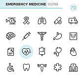 Emergency Medicine - Pixel Perfect icons